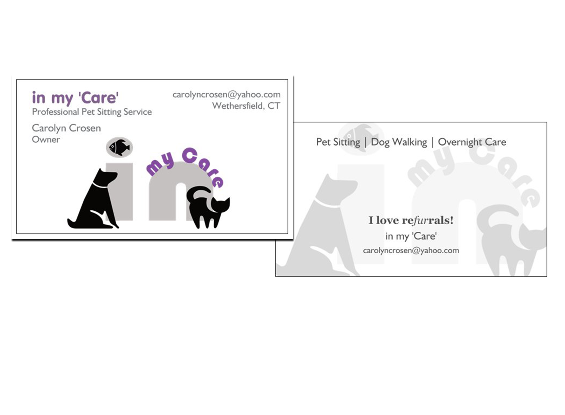 Unique Photograph Of Pet Sitting Business Cards – Business Cards and ...